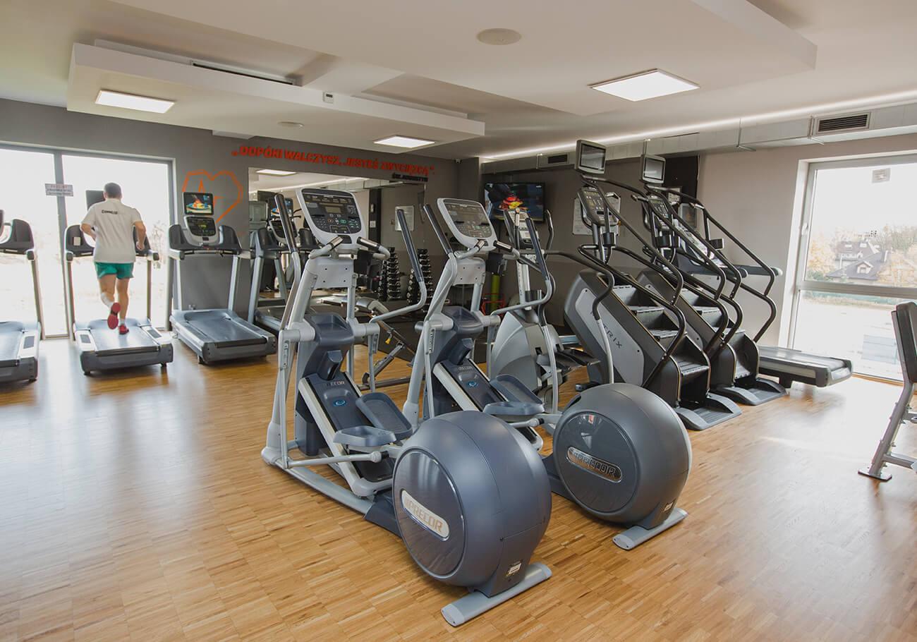 strefa cardio w shausha siłownia gliwice