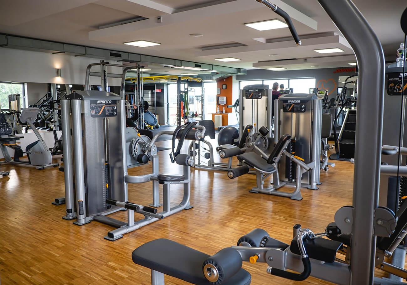 strefa maszyn w siłowni gliwice